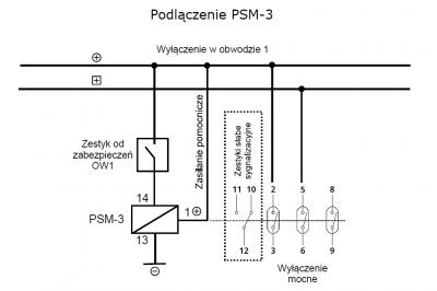 PSM-3 Podłączenie_obwód_1
